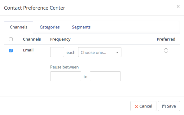 New Mautic GoToWebinar integration, contact preference